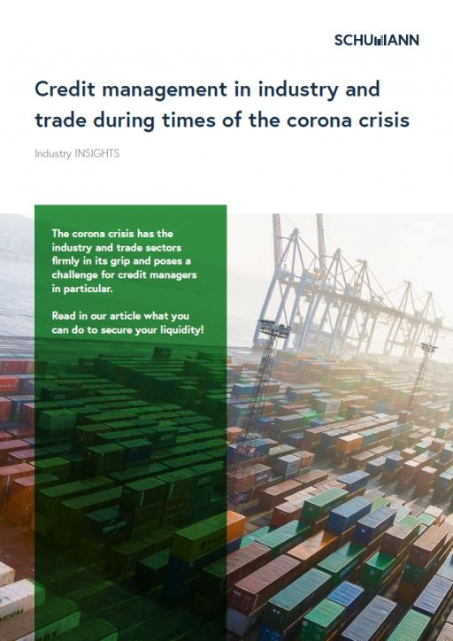 Industry Insight: Credit management in industry & trade in times of the corona crisis