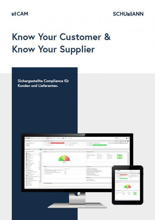 KYC & know your supplier compliance software
